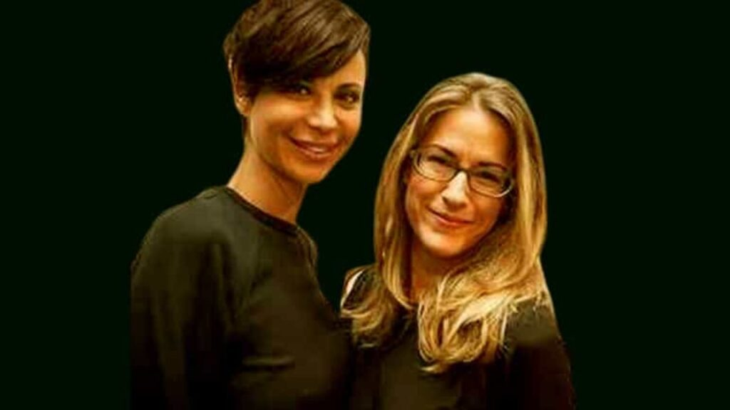 Brooke Daniells with Catherine Bell Partner