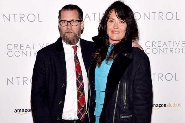 Emily Jendrisak with her husband
