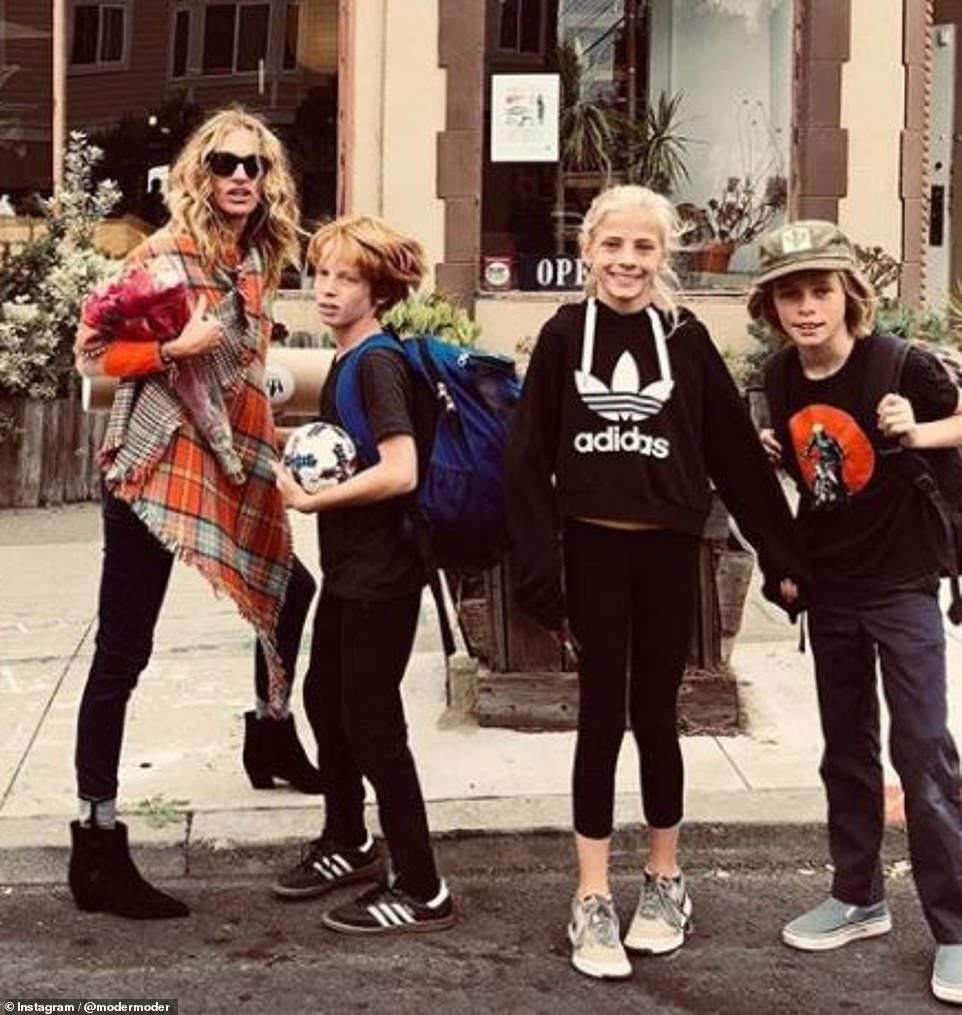 Hazel Moder with Siblings