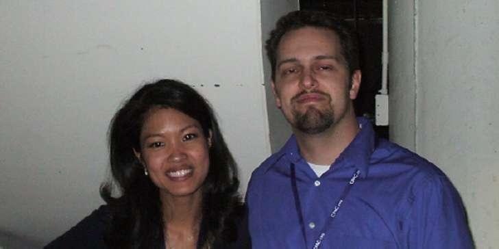 Jesse Malkin with Michele Malkin