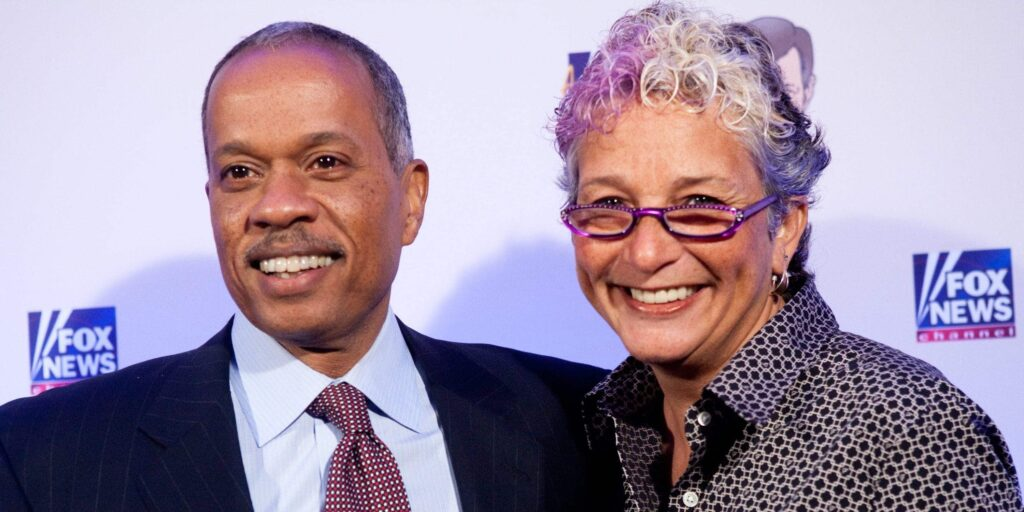 Juan Williams with Susan Delise