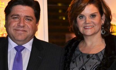 Mary Kathryn Muenster with JB Pritzker