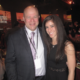 Nicole Bronish with David Tepper