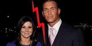 Samantha Speno with Randy Orton