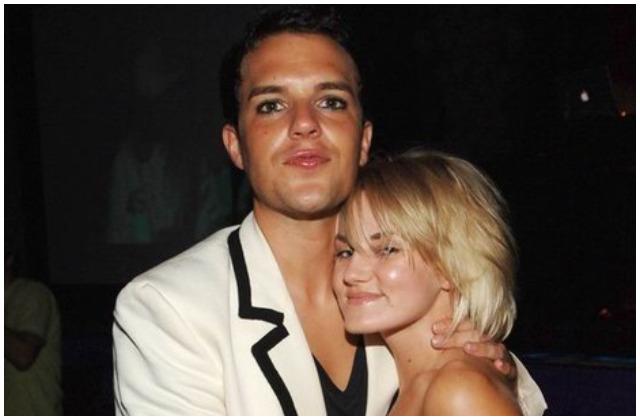 Tana Mundkowsky with Brandon Flowers