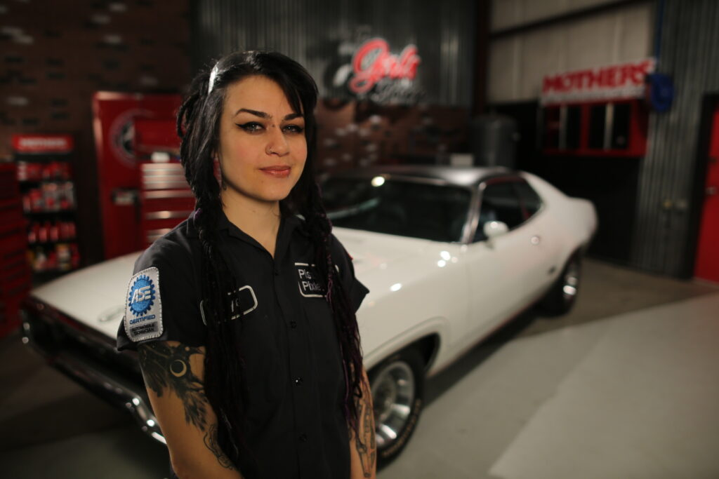 faye hadley on her garage