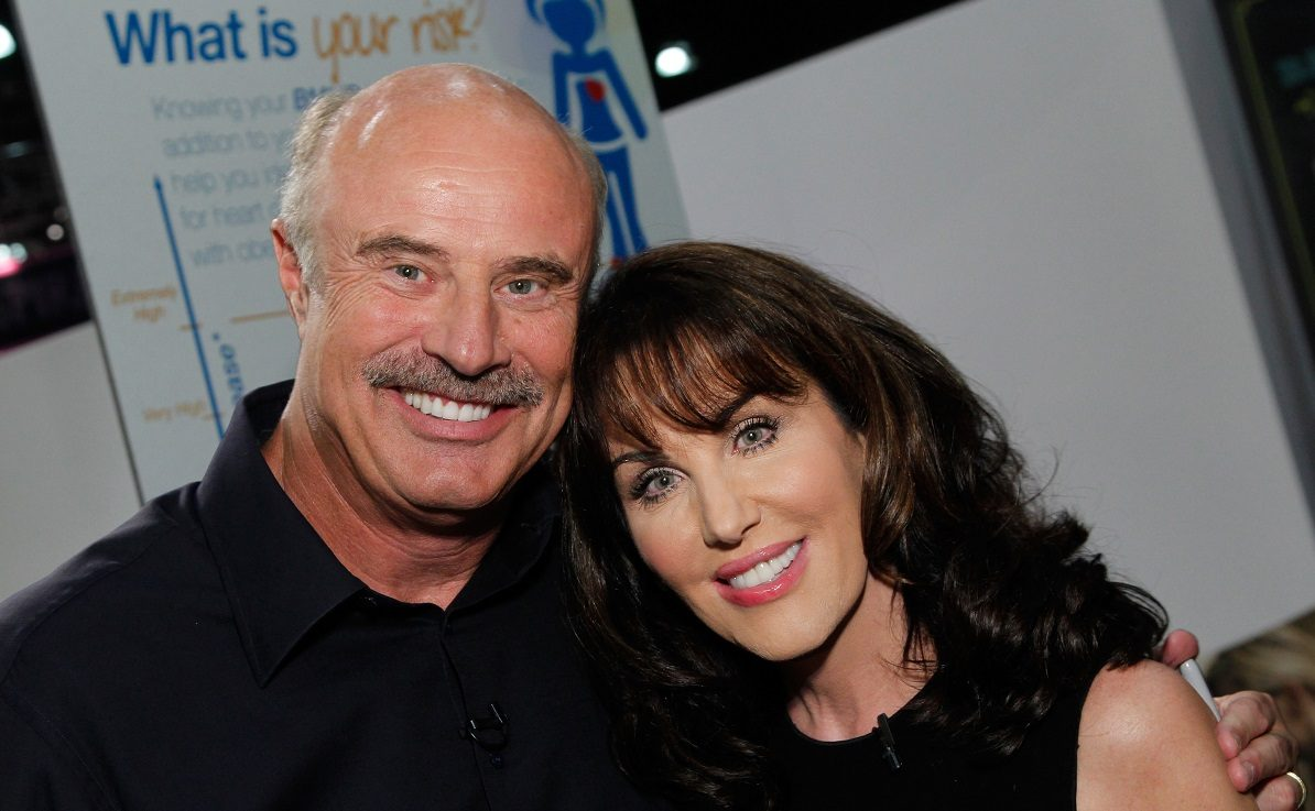 Dr. Phil with Robin