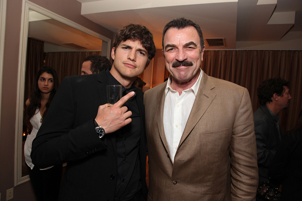 kevin selleck with Tom
