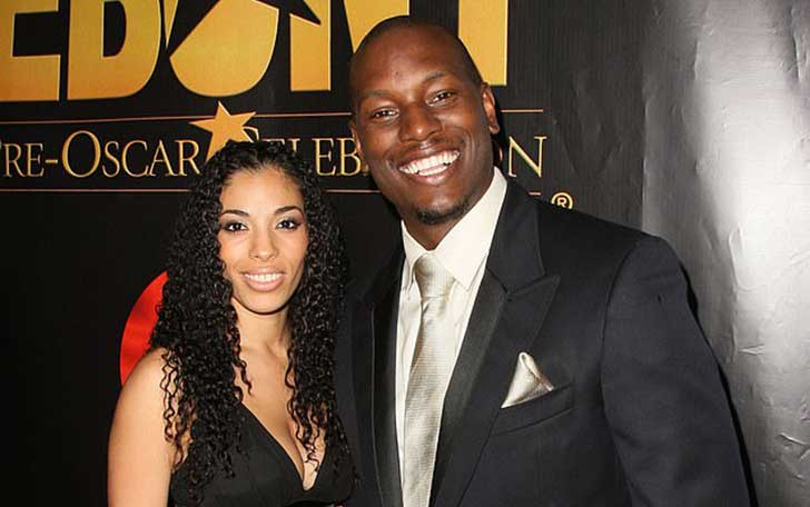 Norma Gibson with Tyrese