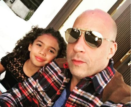 hania riley sinclair with her father