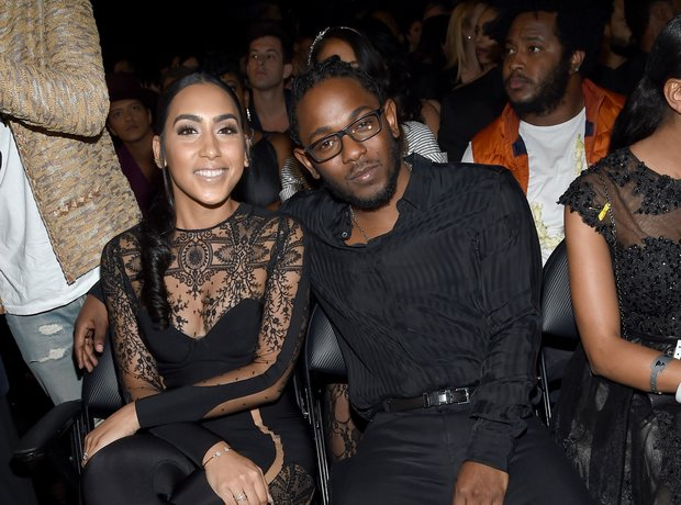 kendrick with Whitney Alford
