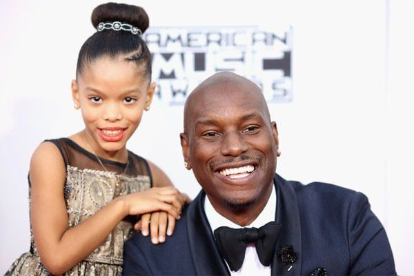 tyrese gibson with daughter Shayla Somer Gibson