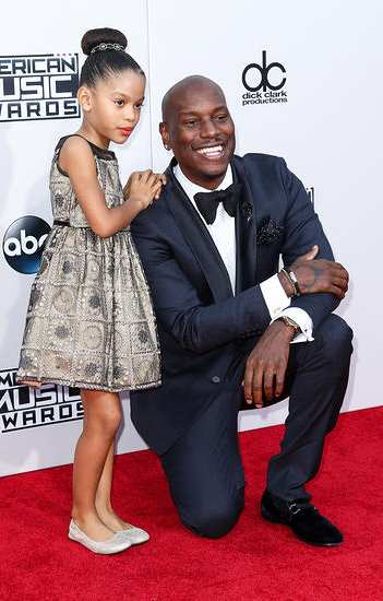 tyrese with daughter Shayla